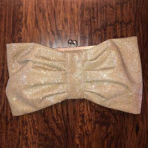 Glam bow clutch